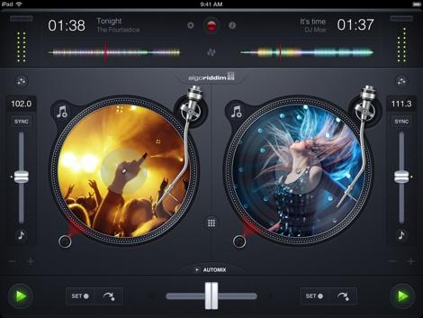 djay iPad 1